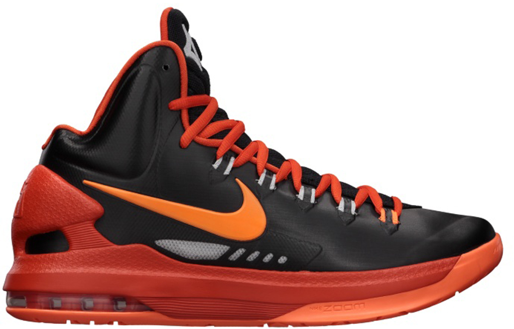 on sale 67dae 18bba Nike KD V 554988-006 Black Total Orange-Team Orange-Strata Grey 01 05 2013