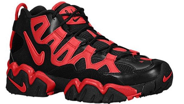 Nike Air Slant Mid Black/University Red