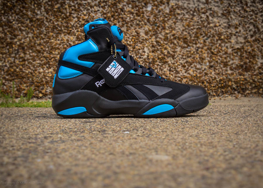 54f7029c6812 Reebok Shaq Attaq  Black Azure Blue  - Available for Pre-Order ...