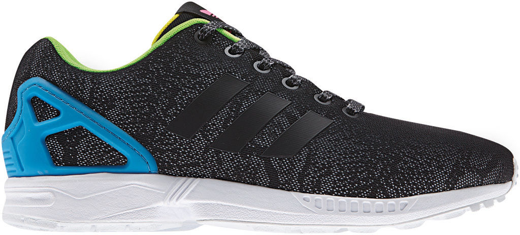 adidas ZX Flux Reflective Snake Pack Black (1)
