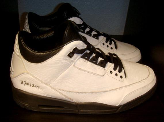 dc431c797a1e22 ... usa air jordan iii 3 white black sample df29d 6cdae