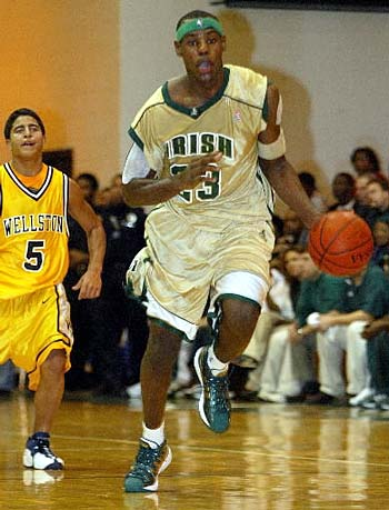 6f1095de533 Sole Collector lists the top ten PEs worn by LeBron James at St.  Vincent-St. Mary High School.
