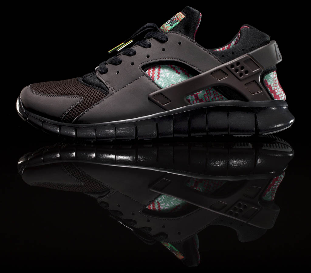 Nike Huarache Free Basketball Black History Month Official (2)