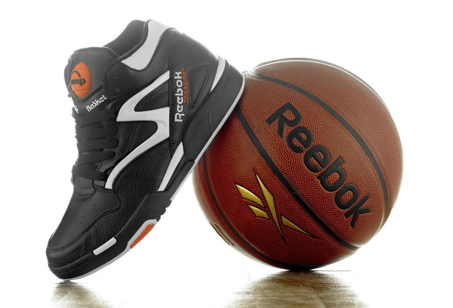 120814e8 Reebok Pump Omni Lite - Black/White