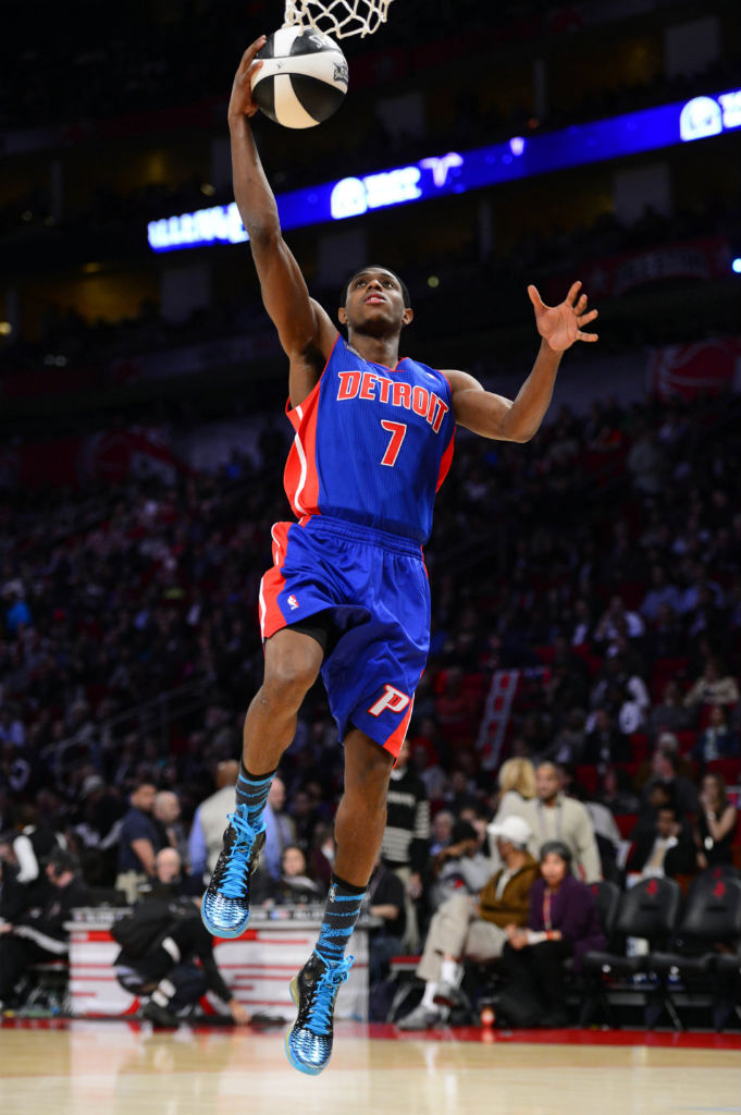 Brandon Knight wearing adidas Rose 3.5 Year of the Snake