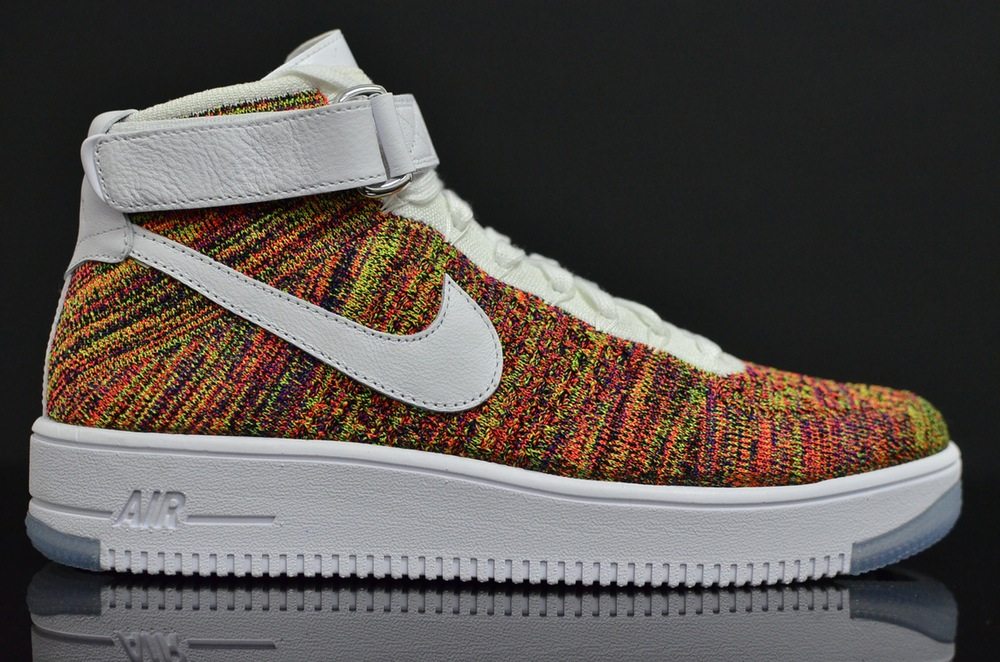 low priced 73baa a2647 Multicolor Nike Air Force 1 Flyknit 817420-700 (13)