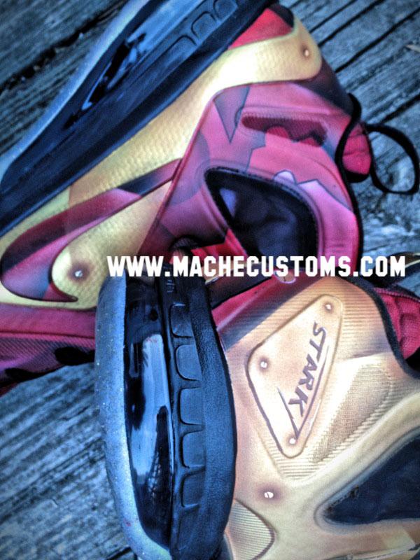quality design 4aaf5 81016 Nike LeBron 9 P.S. Elite Tony Stark by Mache Custom Kicks (3)