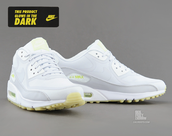 7465bbfd4a12 ... aliexpress nike air max 90 cmft prm in white geyser grey lab green glow  d1ef7 9aadc