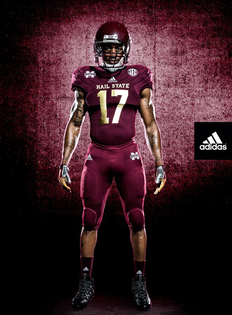 "adidas Unveils New Mississippi State ""Egg Bowl"" Uniform (2)"