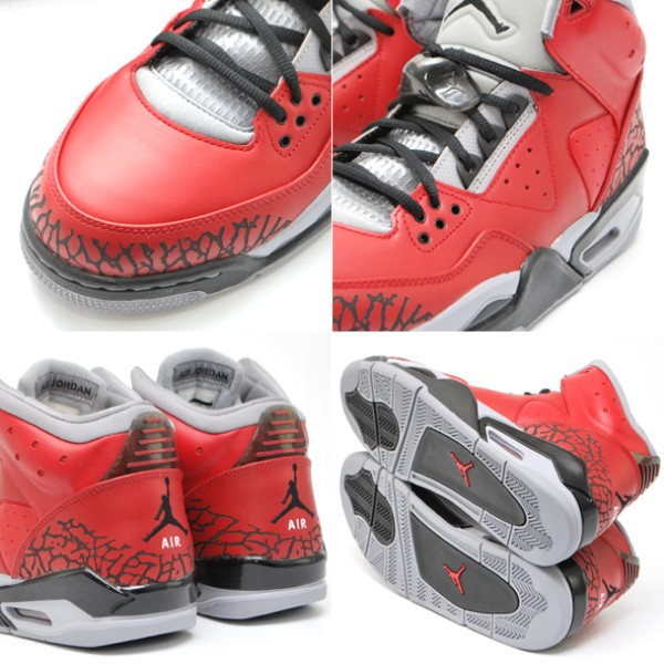 Jordan Rare Air Varsity Red Black Cement Grey 407361-601