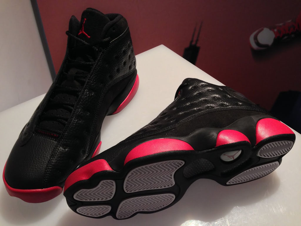 Air Jordan XIII 13 Black/Red Holiday 2014 (3)