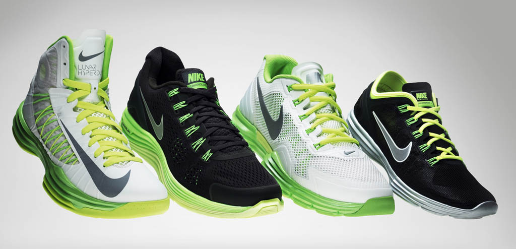 competitive price 29d8e 44cbf Nike Unveils Lunarlon Collection