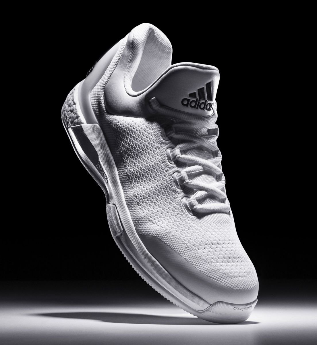 more photos 8e4ba 43d3e Adidas Is Only Releasing 100 Pairs of These James Harden Sneakers. Triple  White Crazylight Boosts.