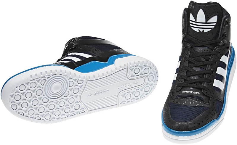 san francisco 4428a f4c8a adidas Originals Forum Mid Crazy Light - Black White Indigo G51708