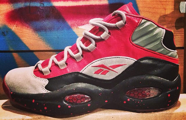 Stash x Reebok Question Red