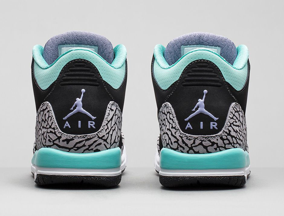 hot sales d3b01 fea8f An Official Look at the 'Bleached Turquoise' Air Jordan 3 ...