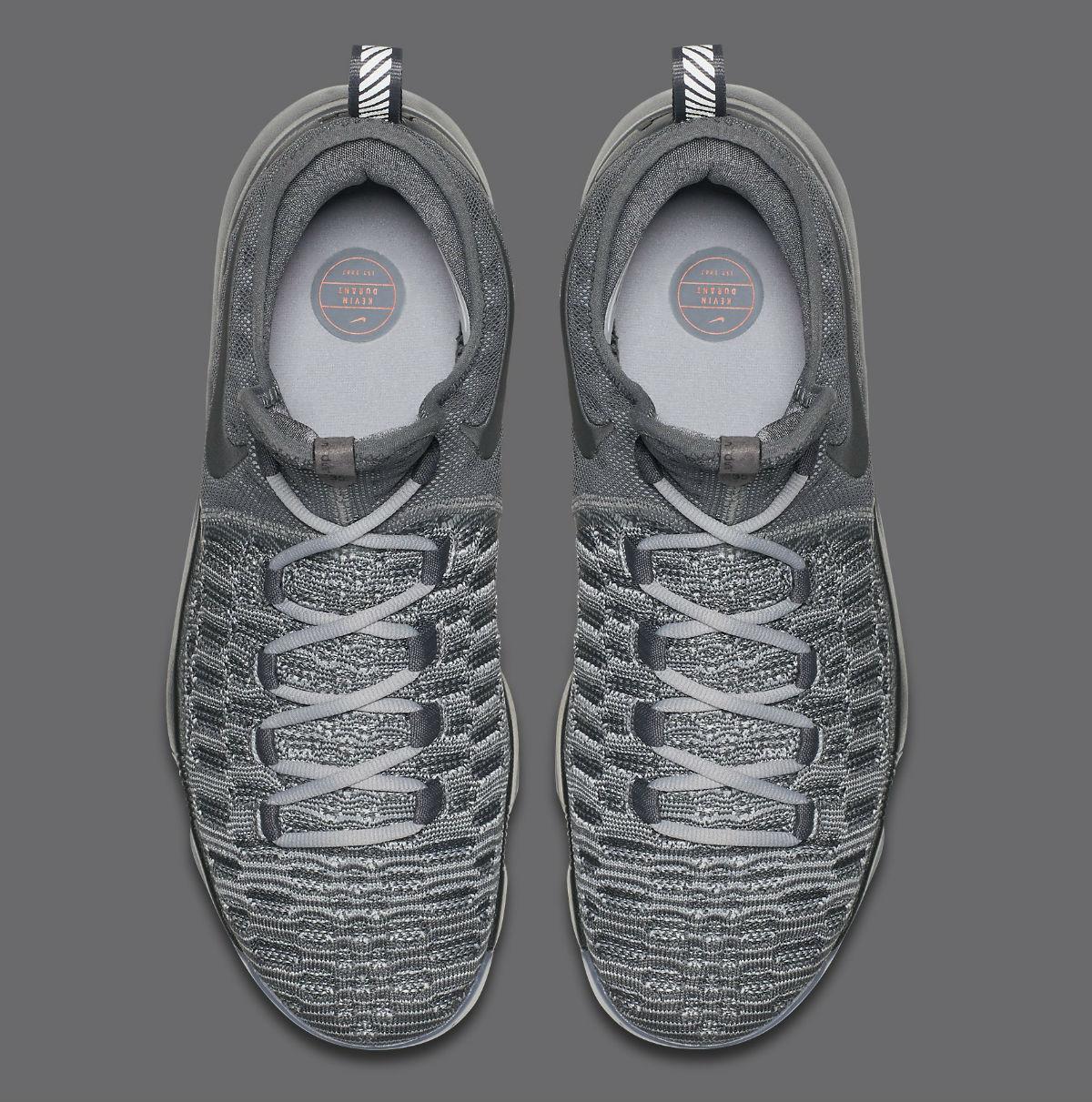 Nike KD 9 Battle Grey Top 843392-002