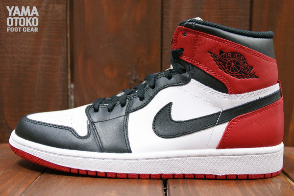 05/25/2013 Air Jordan 1 Retro High OG 555088-184 White/Black-Gym Red $140.00