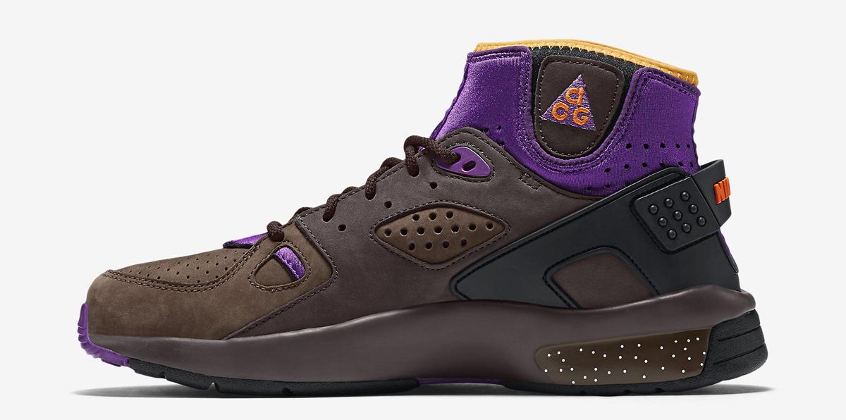 sports shoes 94c73 51b0f Nike Mowabb OG Color  Trail End Brown Total Orange-Pitch-Black-Prism  Violet-Laser Orange Style    749492-282. Price   180