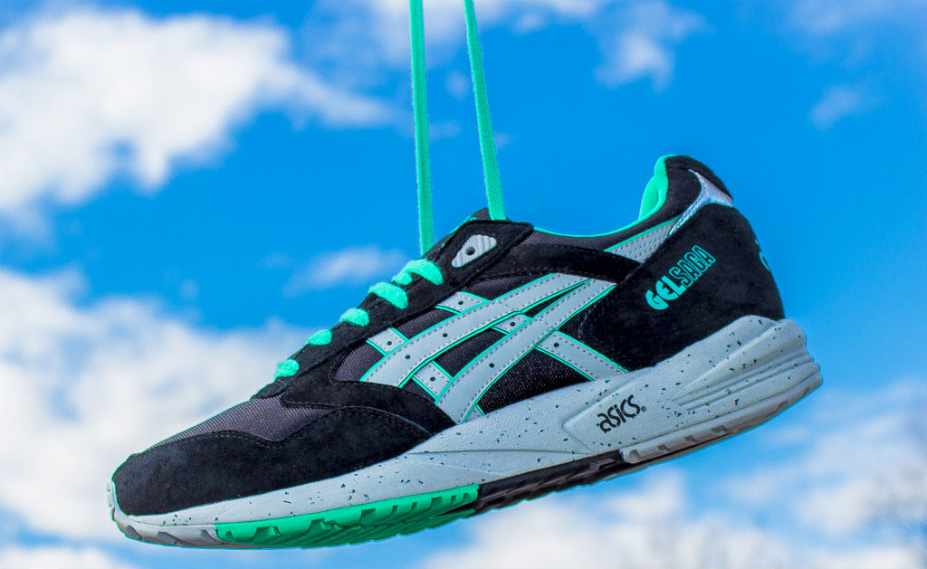 Asics Gel Saga (Black / Burgundy) Kicks Pinterest Products and Saga