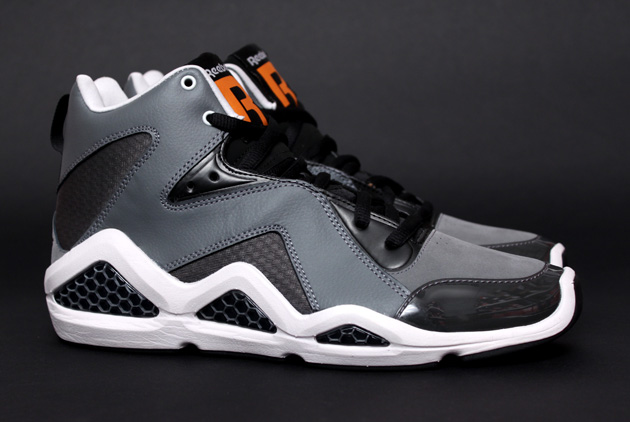 Reebok Kamikaze III - Black/Grey/Orange 6