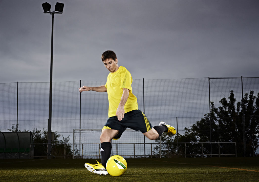 a53deee5a Lionel Messi to Debut the Next Generation of adidas adizero F50 ...