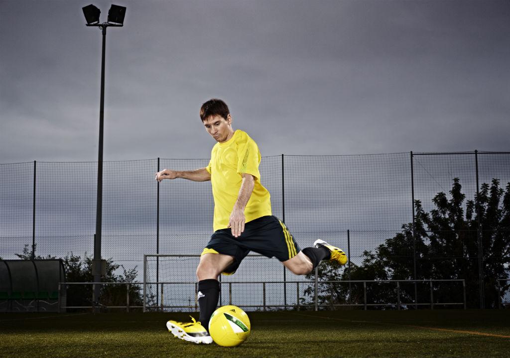 fa94455a Lionel Messi to Debut the Next Generation of adidas adizero F50 ...