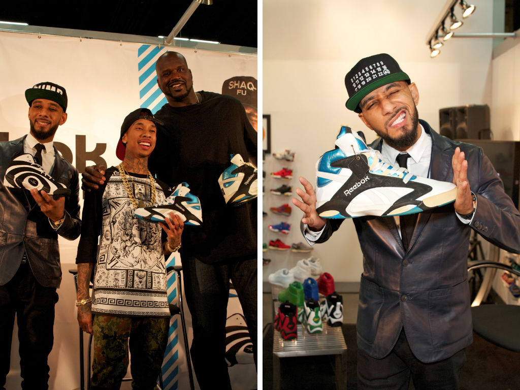 Shaq, Swizz Beatz & Tyga For Reebok Classics At Project (10)