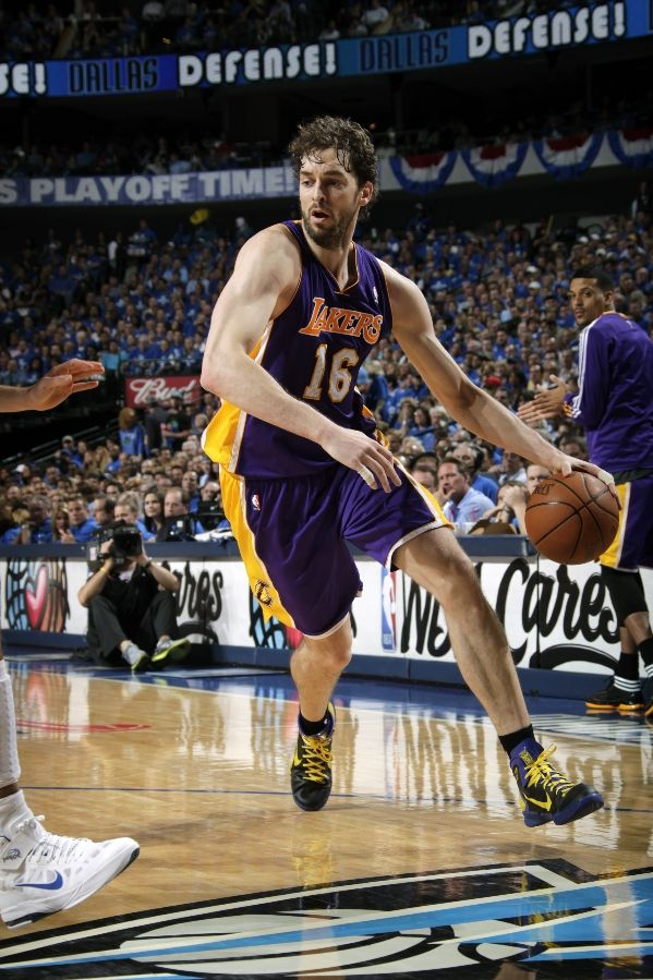 Pau Gasol wearing the Nike Hyperdunk 2010