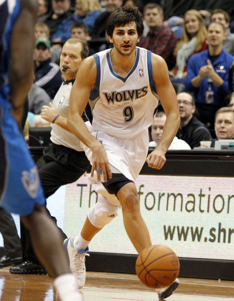 Ricky Rubio wearing adidas adizero Crazy Light 2 (3)