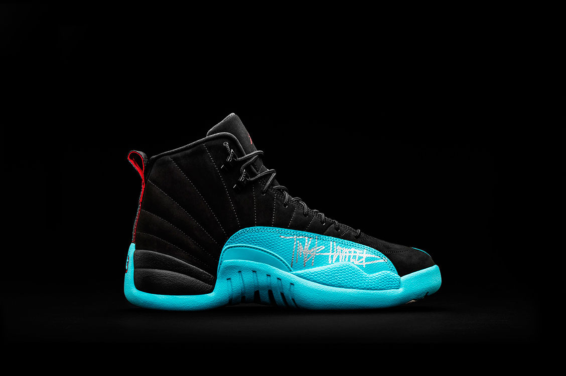 307a2db6378 The  Gamma Blue  Air Jordan 12 Is Included in the Doernbecher ...