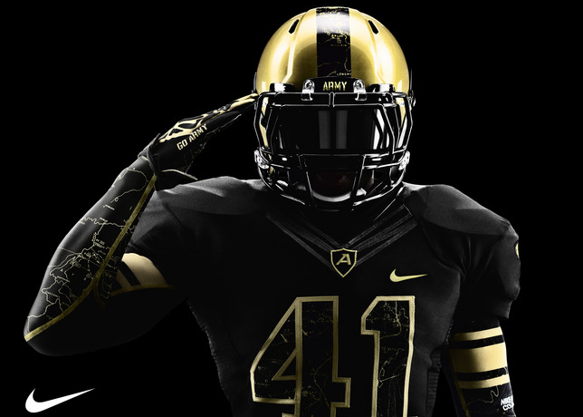 Army and Navy Reveal New Nike Football Uniforms | Sole ...