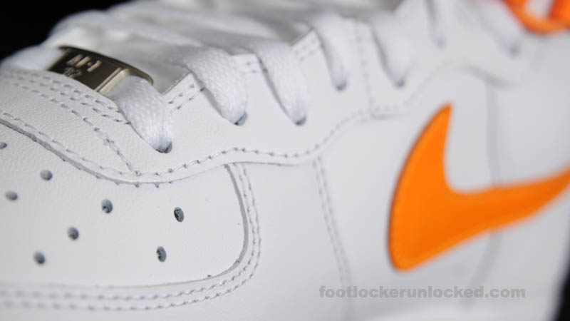Nike Air Force 1 High White Vivid Orange 315121-180 (9)