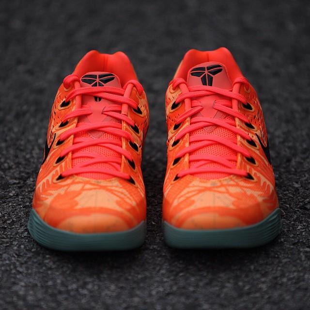 e437c6a2e7ca Nike Kobe 9 low em bright mango Nike Kobe IX 9 Peach Cream Release Date  646701-880 (5) ...