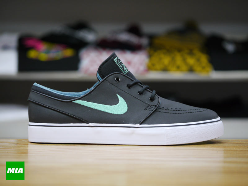 janoski shoes white and mint