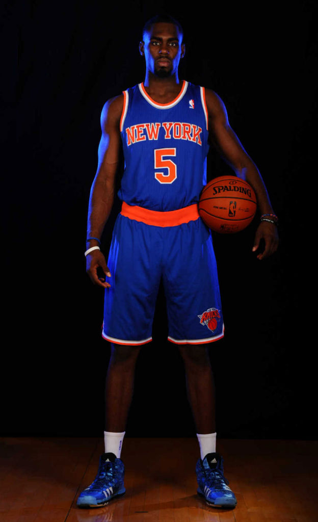 Tim Hardaway Jr. wearing adidas Crazyquick