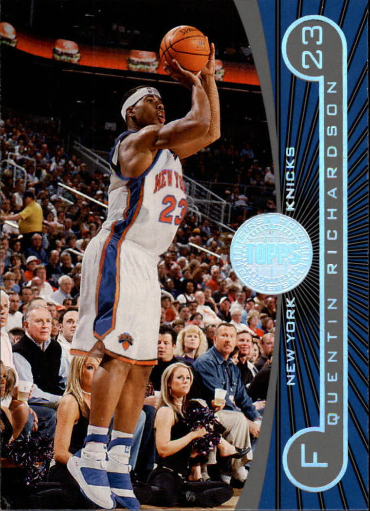 Quentin Richardson wearing Air Jordan XX 20 New York Knicks Home PE