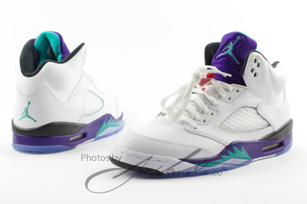 Air Jordan Retro V 5 Grape 136027-108 Release Date (2)