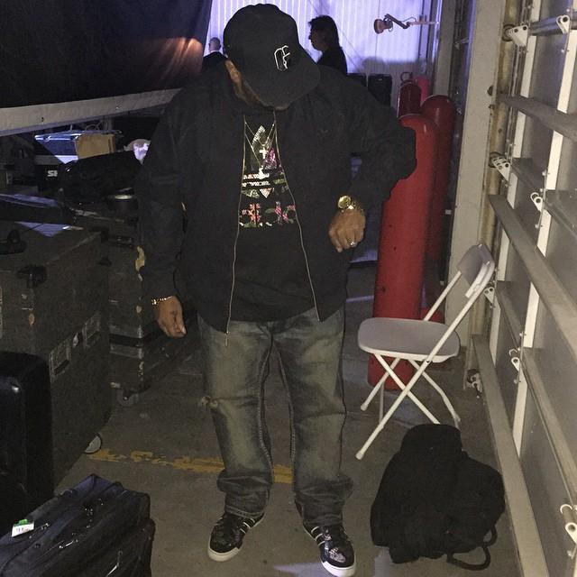 the best attitude da171 f3966 Bun B wearing the Big Sean x adidas Originals Metro Attitude