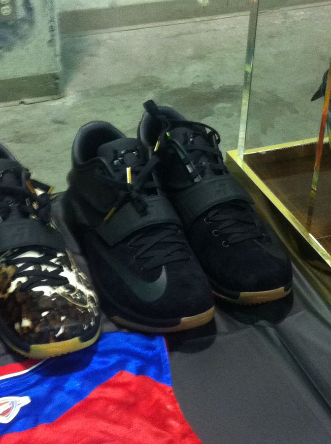Randy Williams Displays Rare Nike KD Shoes (8)