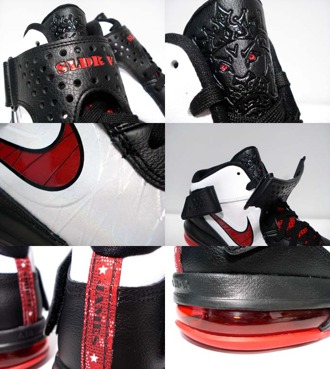Nike Air Max Soldier V - White/Sport Red-Black 454131-101