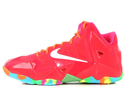 best cheap 6d216 368d0 Get an all around look at this grade school exclusive LeBron XI below, and  be sure to stick with Sole Collector for official release details.