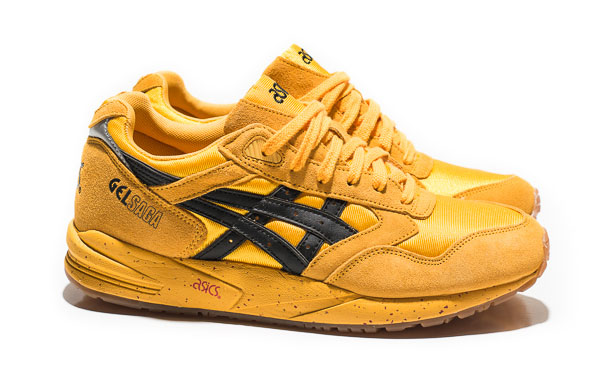asics gel saga yellow