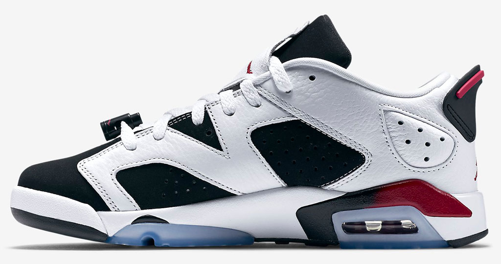 san francisco 2f18e ac839 Air Jordan 6 Low Girls Fuchsia 768878-107 (2)