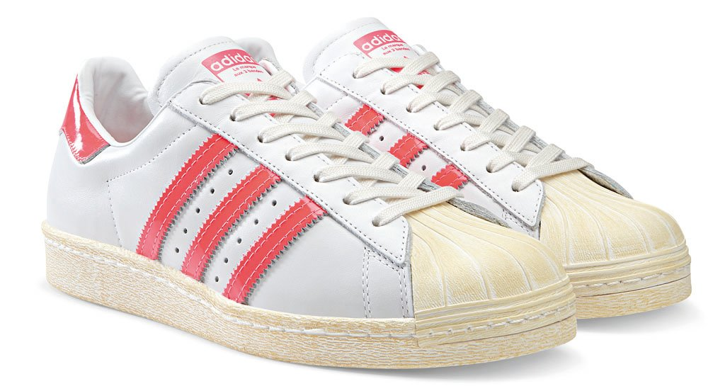adidas Originals Superstar 80s - Spring/Summer 2014 - White/Pink (1)