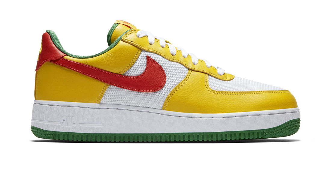 Nike Air Force 1 Low Yellow Zest