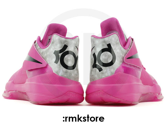 Nike Zoom KD IV Aunt Pearl Think Pink Kay Yow 473679-601 (4)