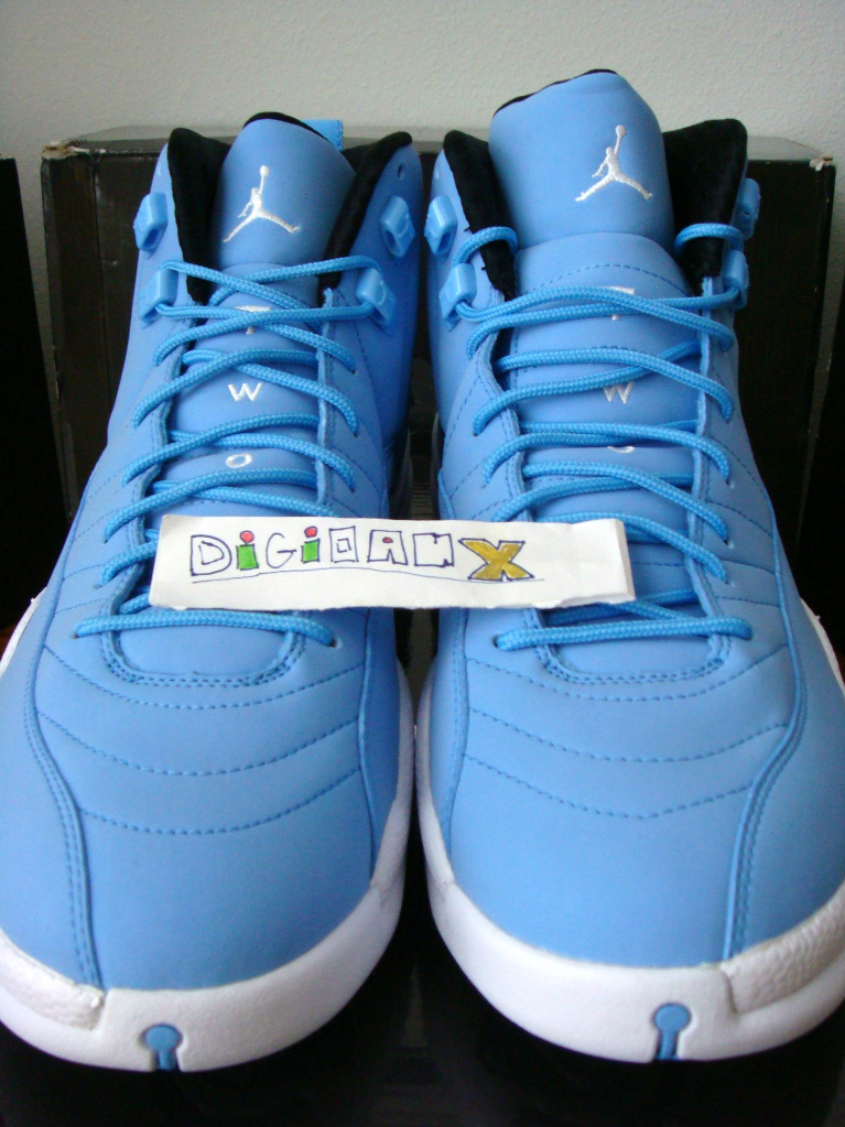 hot sales 221f2 d1d78 Air Jordan Retro 12 - For the Love of the Game - Non-Laser ...