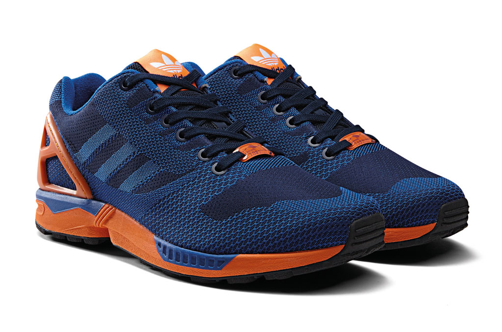adidas ZX Flux 8000 Weave Pack Blue Orange (2)