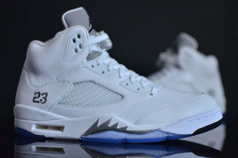 meet dc716 2b460 The 'White Metallic' Air Jordan 5 Is Returning Soon | Sole ...